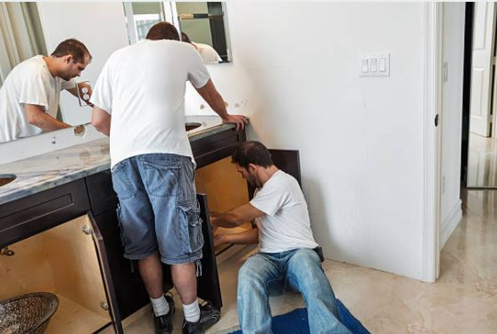 bathroom vanity installation service
