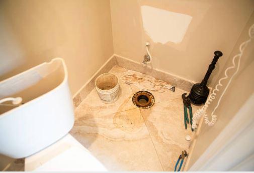 Toilet leak repairs