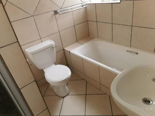 new bathroom toilet install